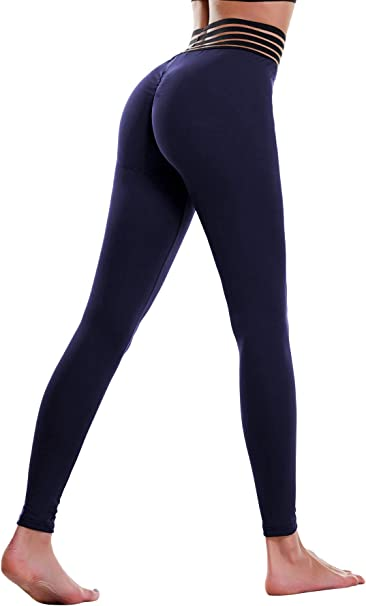 Amazon.com: THANTH - Leggings para mujer, cintura alta ...
