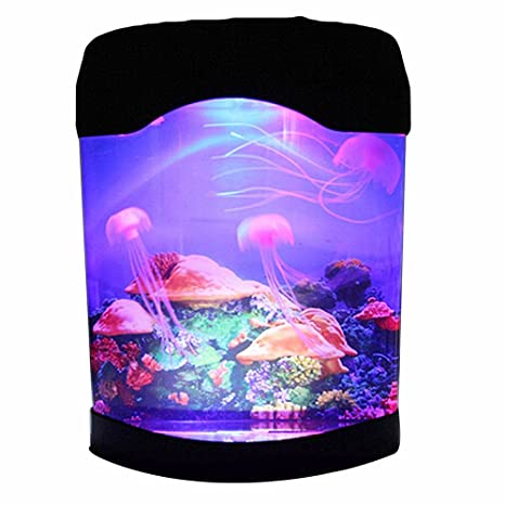Aquarium Jellyfish NHSUNRAY Creative Simulation Decoration Brillante ...