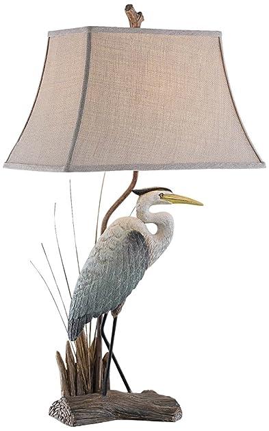 Arapuni Natural Heron Bird Table Lamp - - Amazon.com