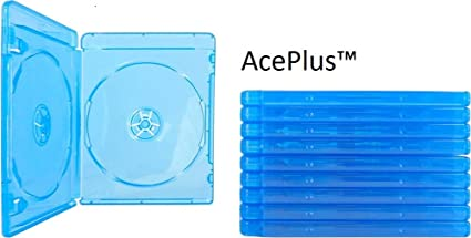 Amazon.com: aceplus Bluray Caso doble 10 piezas con clara ...