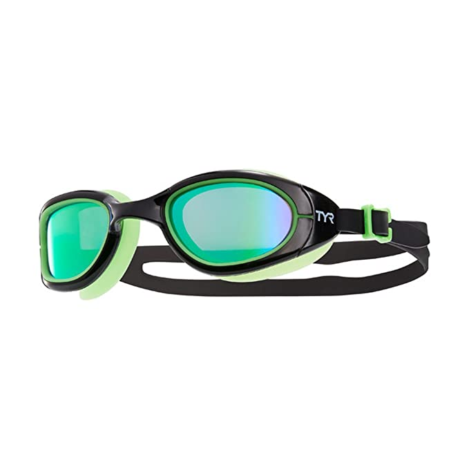 6224fe18a1d Amazon.com : TYR Special Ops 2.0 Polarized Goggles, Gold/Navy, One Size :  Clothing