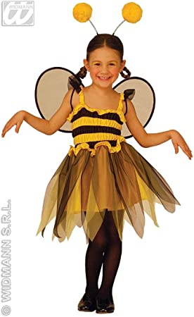 WIDMANN Desconocido Disfraz de abeja para niña: Amazon.es ...