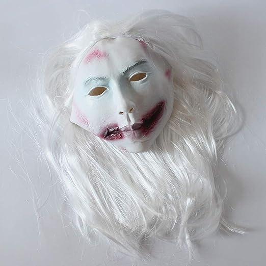 Máscara de Halloween de Bumen, disfraz de Halloween para Halloween ...