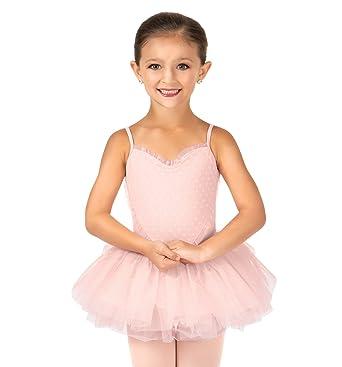 Bloch Kids Baby Girls Heart Mesh Camisole Tutu Dress Toddler Little Big