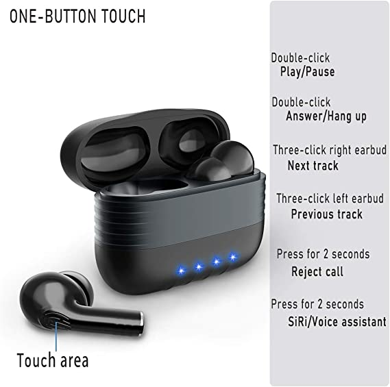 Cokvok Bluetooth Kopfhörer In Ear Kabellose Kopfhörer Elektronik