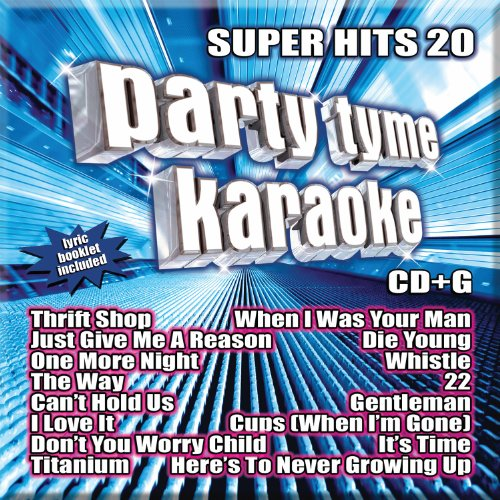 Pop Hits Karaoke (Party Tyme Karaoke - Super Hits 20 [16-song CD+G])