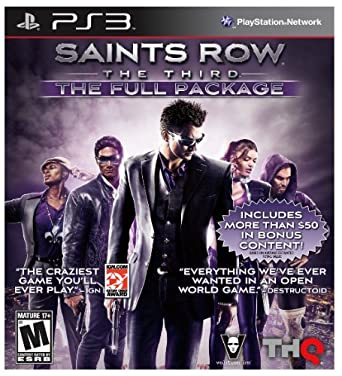 Saints Row 3 W/DLC (Full Pkg): Square Enix LLC: Amazon com au: Video