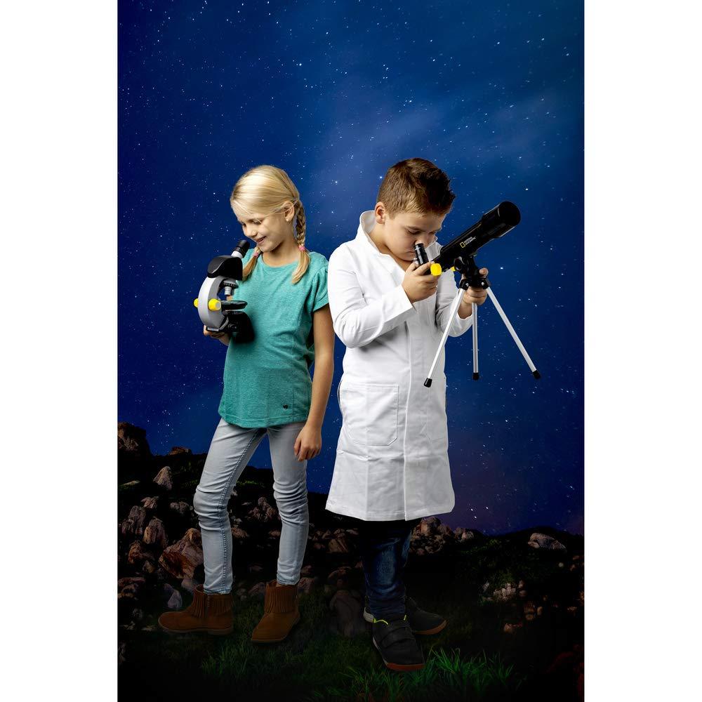 Kit de telescopio y microscopio National Geographic