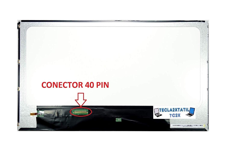 TECLA2XTATIL TC2X Pantalla Compatible para PORTATIL N156BGE-L21 Rev.C1 15,6 LCD LED Brillo HD