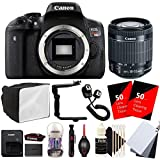 Canon EOS Rebel T6i 24.2MP Digital SLR Camera with 18-55mm EF-IS STM Lens and Accessory Kit