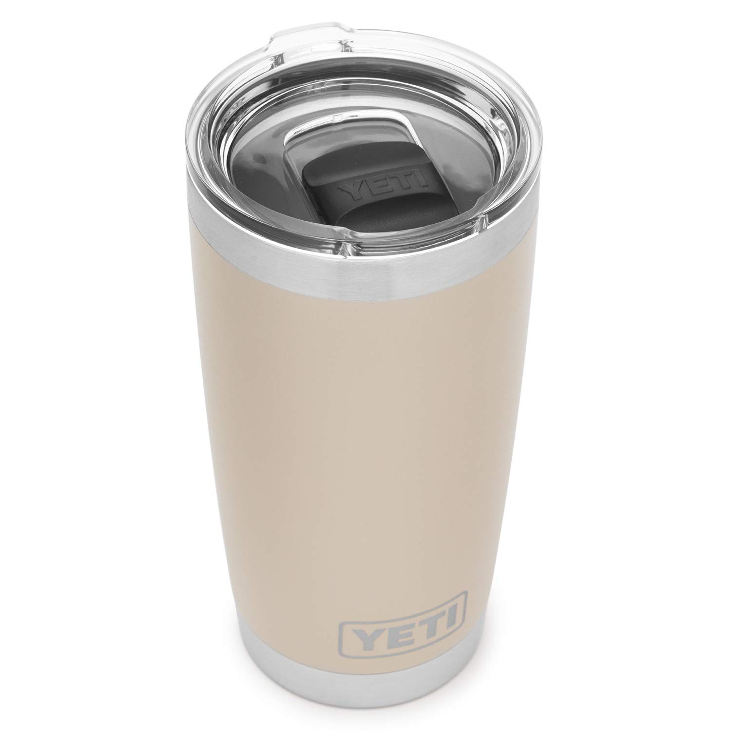 YETI Rambler 20 oz Stainless Steel Vacuum Insulated Tumbler w/MagSlider Lid, Sand by YETI