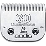 Andis Carbon-Infused Steel UltraEdge Dog Clipper Blade, Size-30, 1/50-Inch Cut Length (64075)