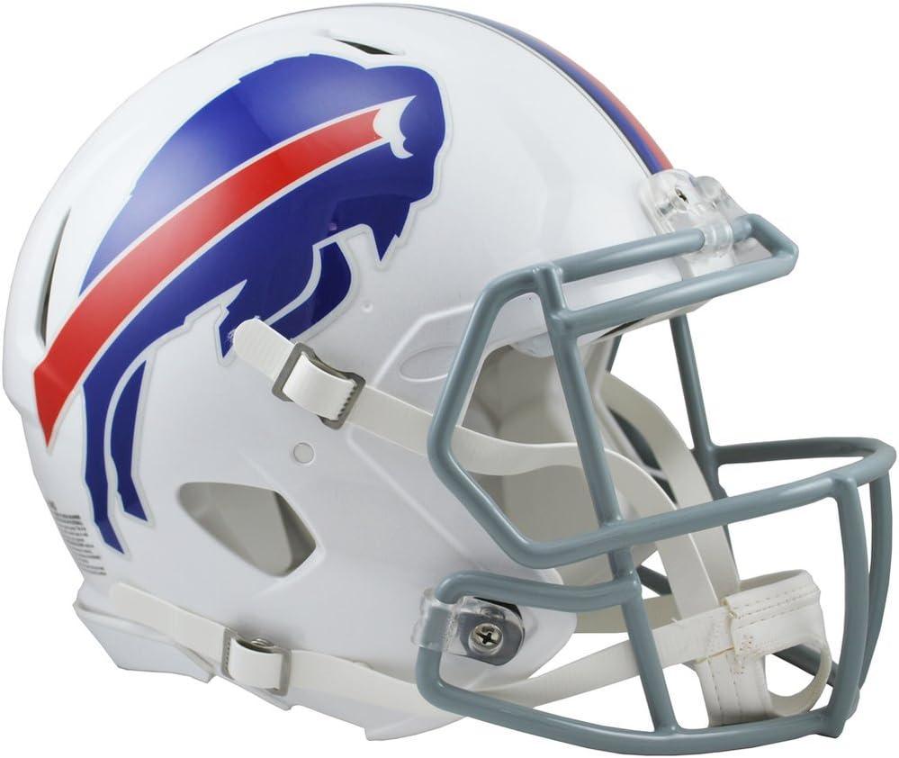 Amazon Com Riddell Nfl Buffalo Bills Speed Authentic Football Helmet Red Medium Sports Fan Football Helmets Sports Outdoors