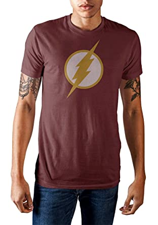 Jla Black Lightning Bolts Premium Adult Slim Fit T-Shirt