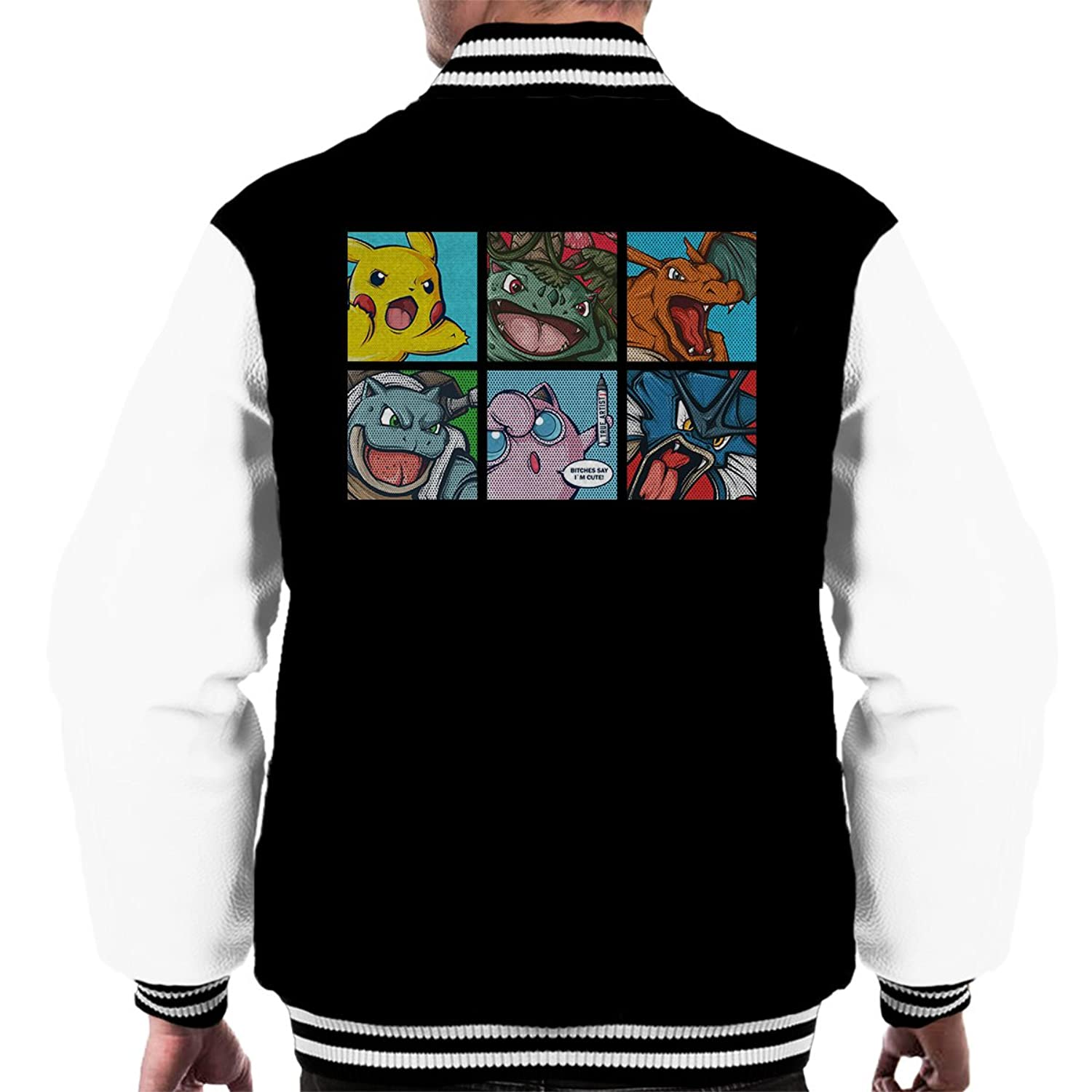 Pokemon Popart Men's Varsity Jacket
