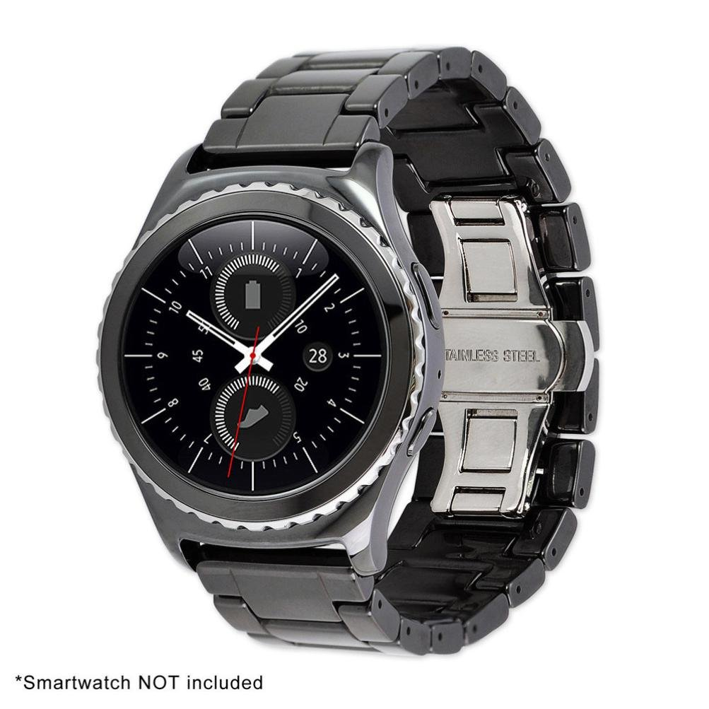 jiangfu Smart Watch [cerámica banda], Business Lujo cerámica reloj ...