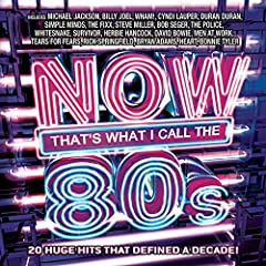 20 hits from the 80's when Pop was popping to 'Billie Jean'- Michael Jackson, 'Uptown Girl' - Billy Joel, 'Wake Me Up Before You Go-Go' - Wham!, 'Girls Just Want To Have Fun' - Cyndi Lauper, 'Hungry Like The Wolf '- Duran Duran, 'Don't You (F...