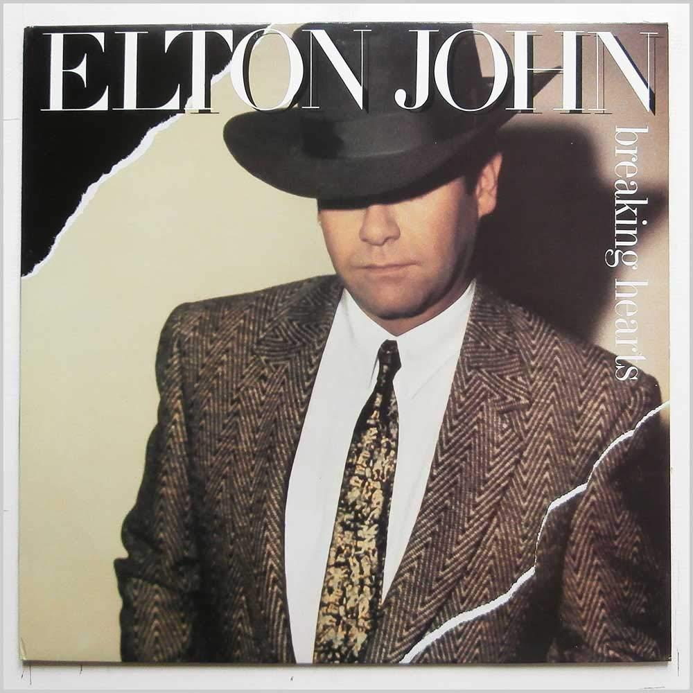 Elton John Breaking Hearts Lp Amazon Com Music
