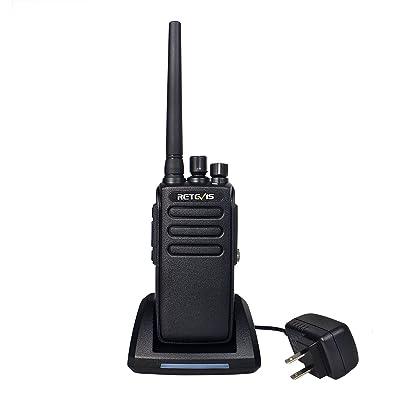 Retevis RT81 Two Way Radio Long Range IP67 Waterproof Walkie Talkies High Power UHF 32 Channel Ham Radio (1 Pack): Car Electronics