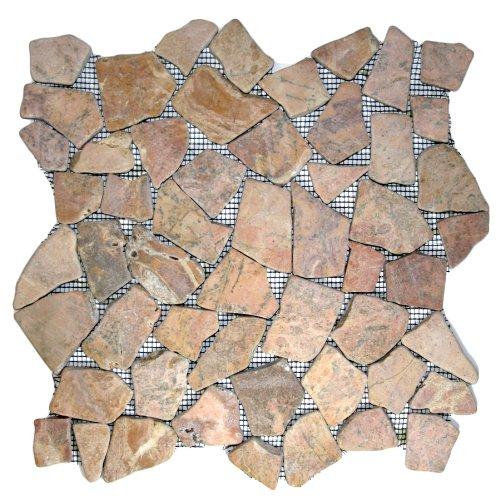 Red Mosaic Tile Sample
