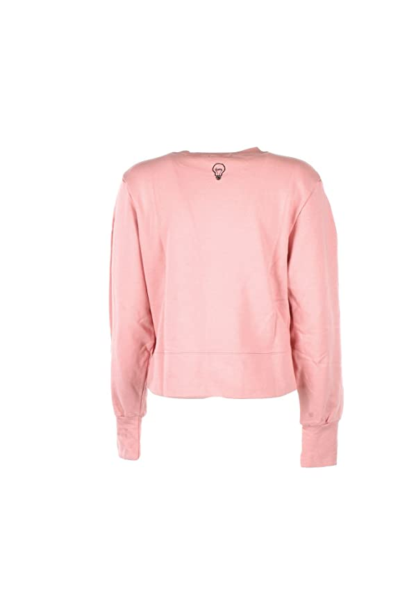 LUMI Felpa Donna S Rosa Lu-17659 Autunno Inverno 2017/18: Amazon.co.uk:  Clothing