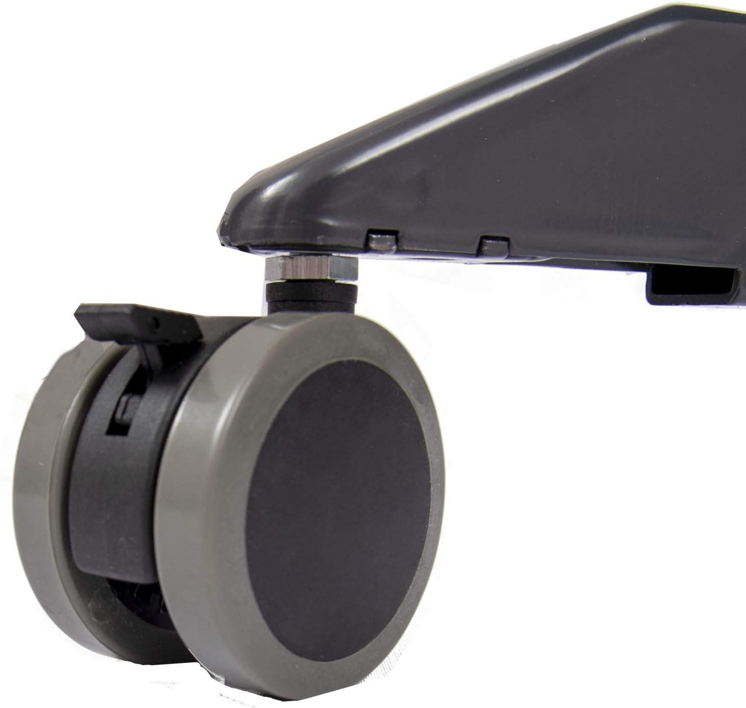 35, Black Frame//Black Top Breakroom Table S Stand Up Desk Store Pneumatic Adjustable-Height Cafe Table