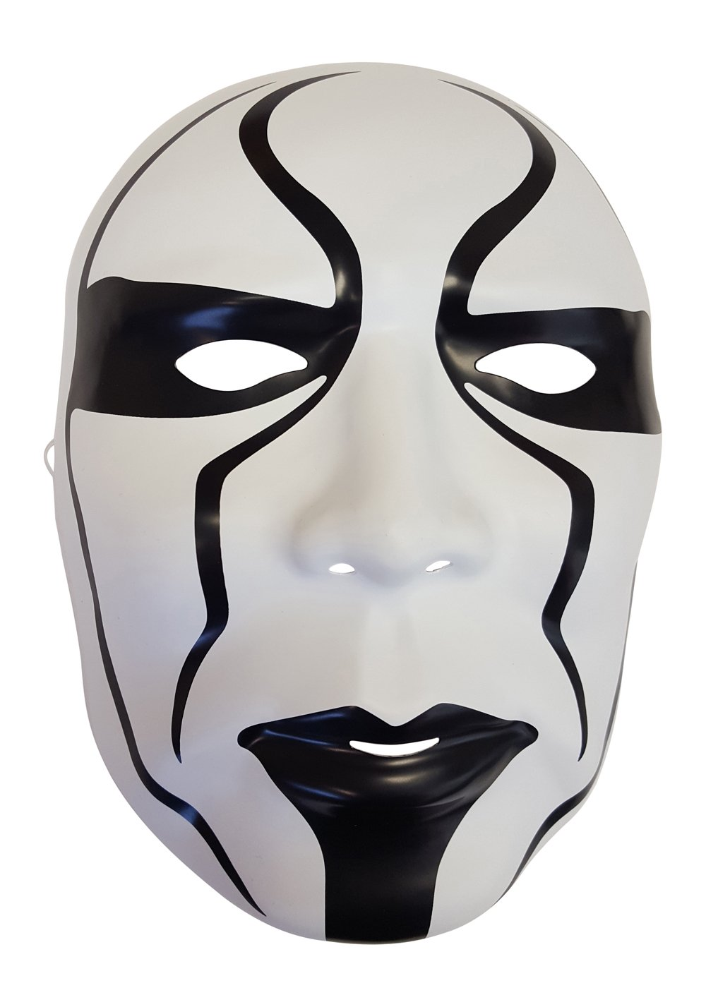 Sting Silent Warrior Plastic Halloween Party WWE Mask by WWE