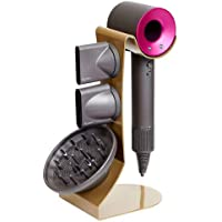 Dyson Hair Dryer Stand Holder, 3 Colors Rust Prevention Steel for All Dyson Supersonic Models (Gold Pearl)