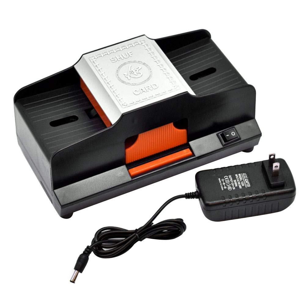 Cosy -Professional Kartenmischmaschine 1-2 Kartensortierer Hochgeschwindigkeitsautomatik Kunststoffmischmaschine elektronisches Pokerspiel Mischmaschine Desktop-Spiel Spielkarte Heimdekoration