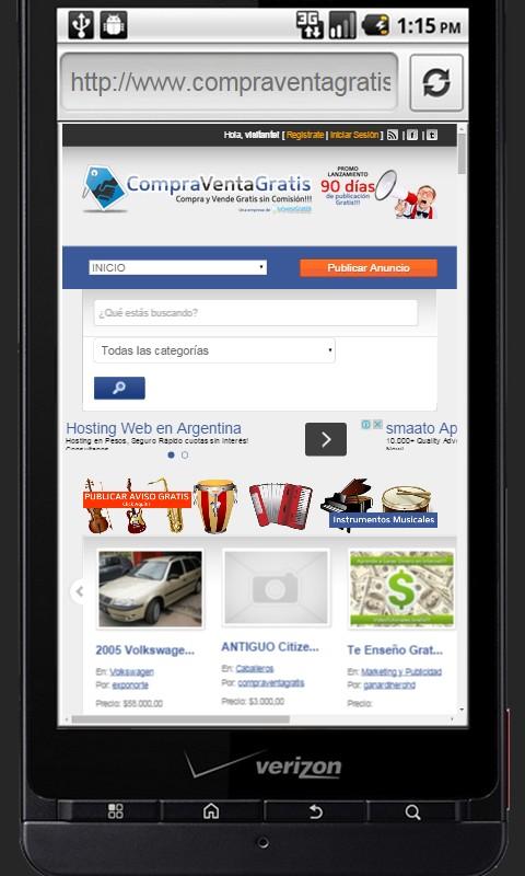Clasificados gratis anuncios appstore for android for Anuncios clasificados gratis