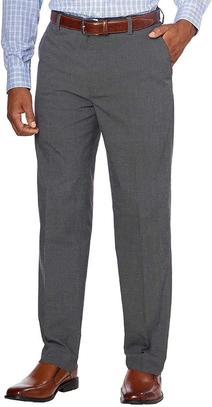 Black,Gray,Tan Kirkland Signature Men/'s Non-Iron Comfort Pant *FREE SHIPPING*