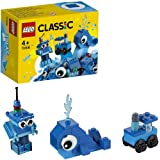 LEGO Classic Creative Blue Bricks 11006 Kids' Building Toy Starter Set with Blue Bricks to Inspire Imaginative Play
