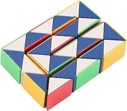 SC Cube Fidget Toy, Light Luxury EDC Fidgeting Infiniti Cube Game for Kids & Adultsi (Snake Cube)