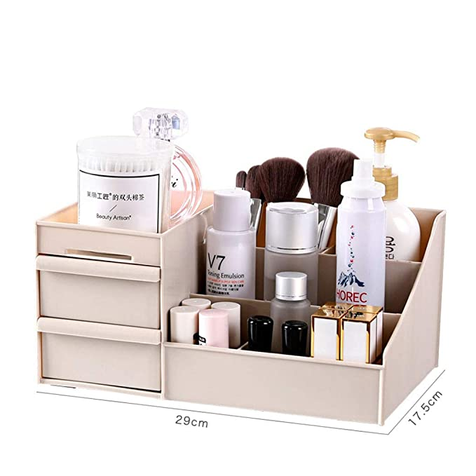 Plastico Organizador de Maquillaje,Organizador de escritorio ...