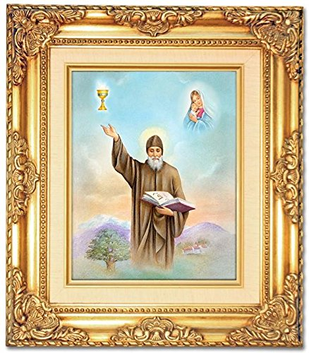 St. Charbel Framed Art by Discount Catholic Store