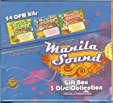Manila Sound : 54 OPM Hits - Original Artists - Gift Box 3 Disc Collection - Digitally Remastered