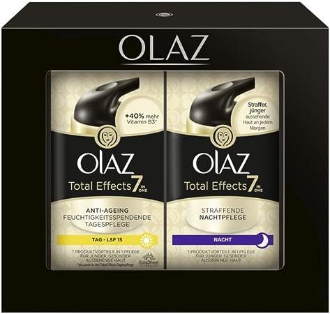 Olay Total Effects Set - Set de Crema de Día y Crema de Noche: Amazon.es: Belleza