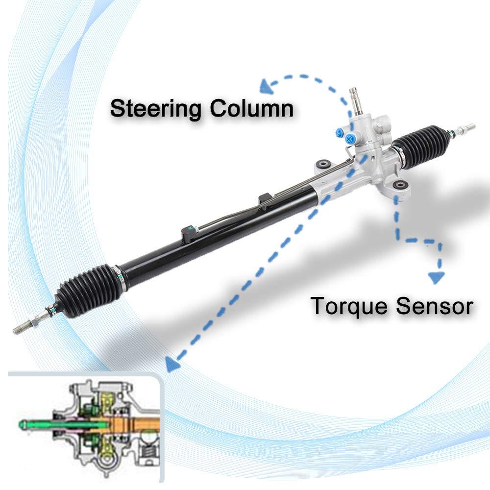 ECCPP New Complete Unit Power Steering Rack and Pinion Assemblies Fit for 2008-2014 Subaru Impreza 2013-2014 Subaru WRX 2013-2017 Subaru WRX STI 34110VA121