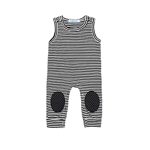 b75790796df2 Amazon.com  Caibiet Baby Clothes Newborn Romper Infant Baby Summer ...
