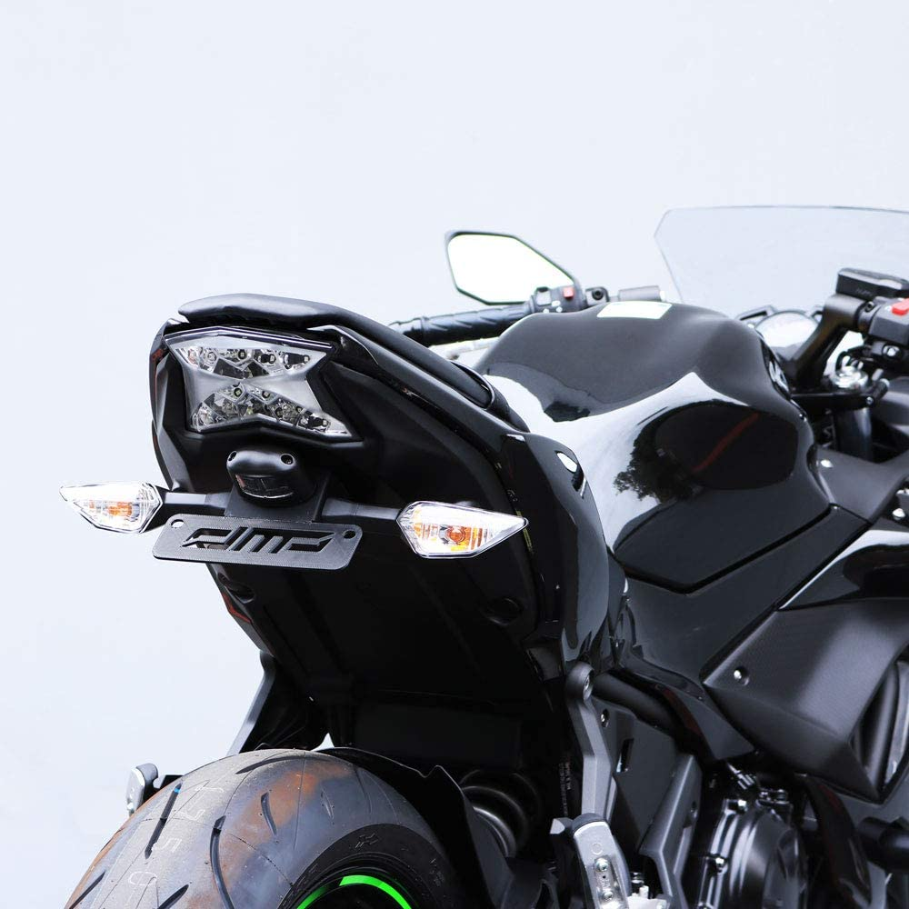 DMP Kawasaki Ninja 650 Z650 Z 650 2017 2018 2019 2020 Fender Eliminator Kit SLR For use with OEM Markers and Plate Lights 670-4515 Fits ABS & Non ABS Models - MADE IN THE USA