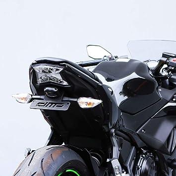 Motorcycle Fender Eliminator for Kawasaki Z650 Kawasaki Ninja 650 2017-2018 Black Powder coated