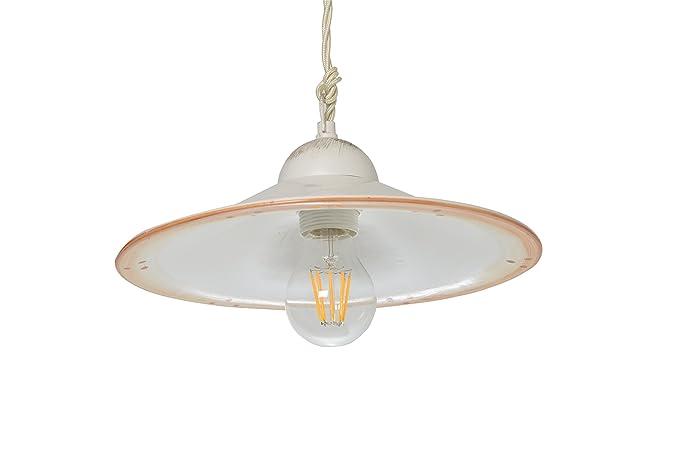 Plafoniere Industriali Diametro 30 : Vanni lampadari lampada a sospensione piatto liscio diametro 30 in