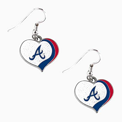MLB Atlanta Braves Logo Dangler Earrings