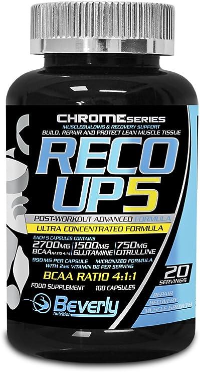 Beverly Nutrition Recoup5 Post Workout Recuperador - 100 ...