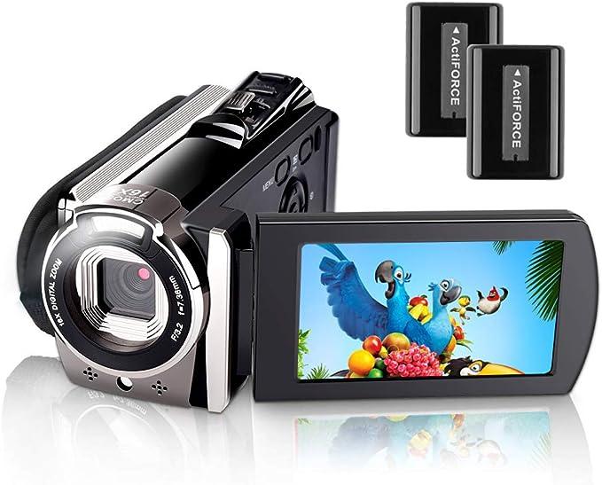 11 opinioni per Videocamera,iBosi Cheng Videocamera Digitale Full HD 1080P, 24MP, Zoom Camcorder