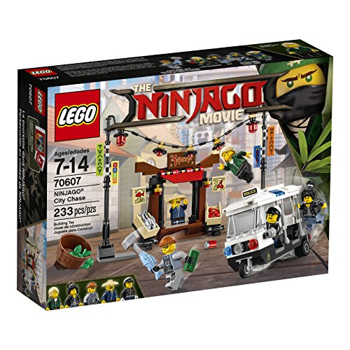 LEGO Ninjago Movie City Chase 70607 Building Kit (233 - Shopping Queen On Street