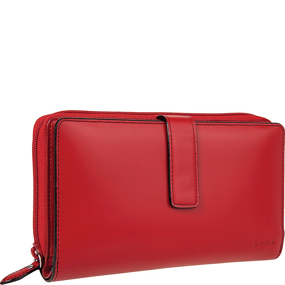 Lodis Women's Audrey Wallet,Red,One Size