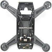 Kismaple Châssis de logement de bâti de Shell de logement de cadre central pour DJI Spark Accessoires Remplacement (Drone cadre moyen)