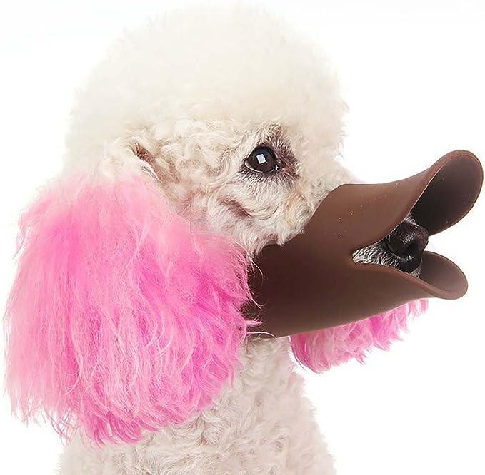 Bozal para perros con forma de pico de pato, antimordeduras y ...