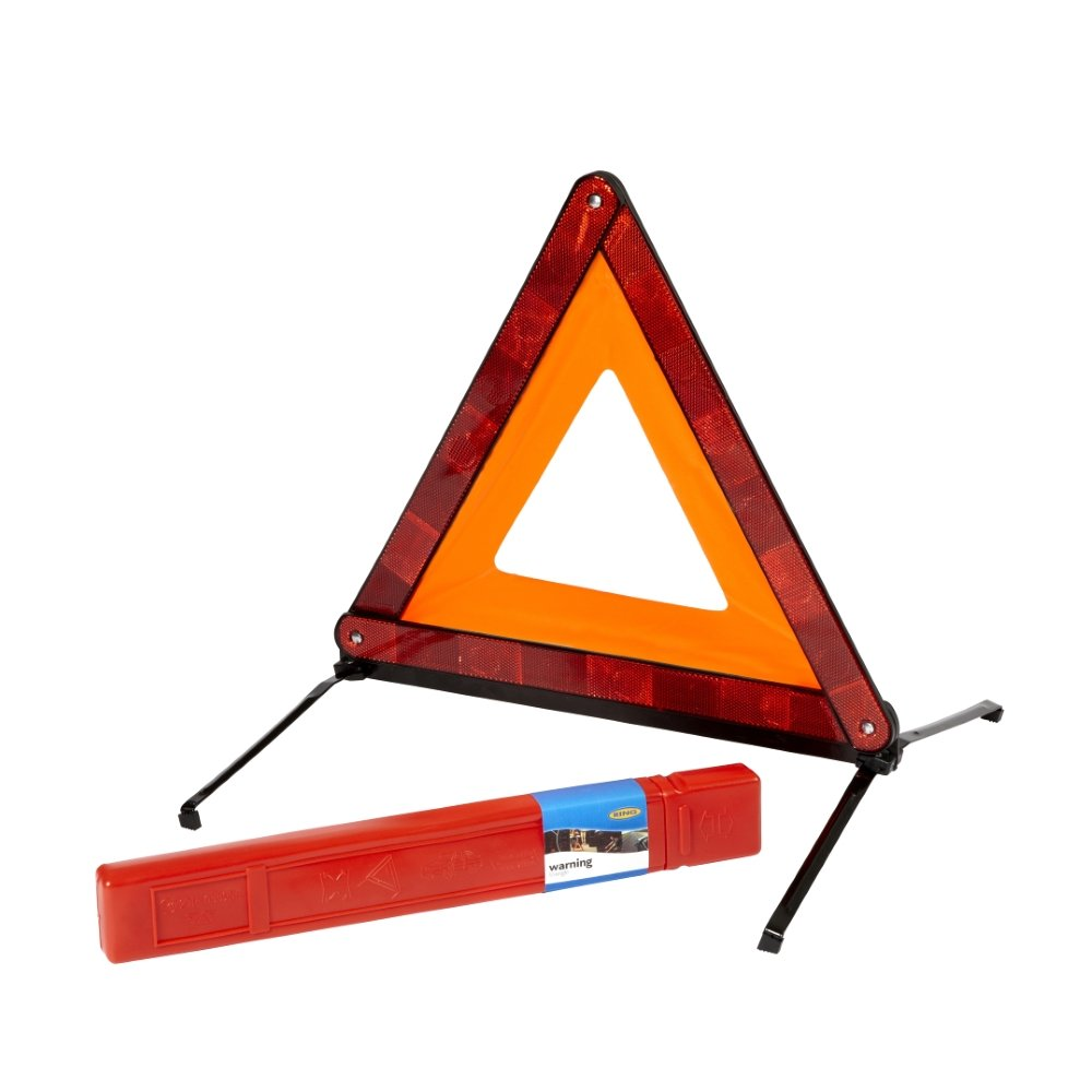 Ring RCT1360 CE Certified Emergency Warning Triangle for Roadside Use – Ideal for Driving in Europe RING AUTOMOTIVE